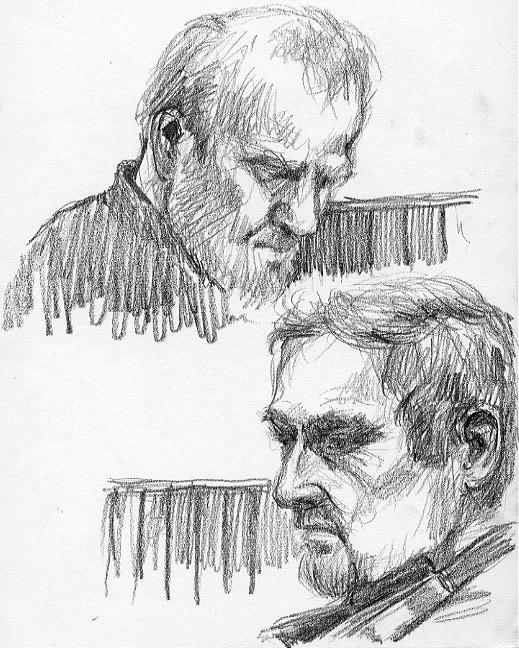 An Artist's Life For Me!: SketchJam at Fagans: Irish Ballads