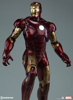 Pre-order abierto de Iron Man Mark III Maquette - Sideshow Collectibles