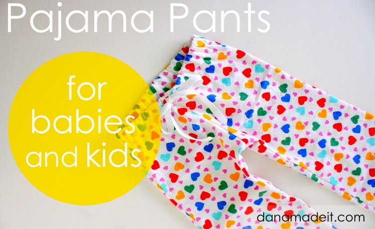 photo relating to Printable Pajama Pants Pattern called PJ Trousers Developed Day by day