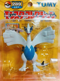 Lugia figure Tomy Monster Collection yellow package series