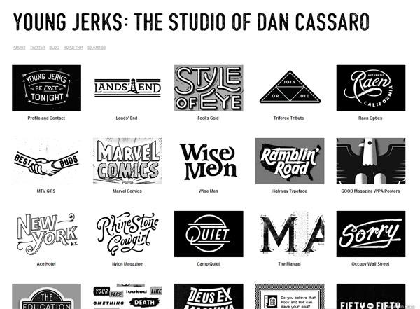 DAN CASSARO - Desain Web Keren