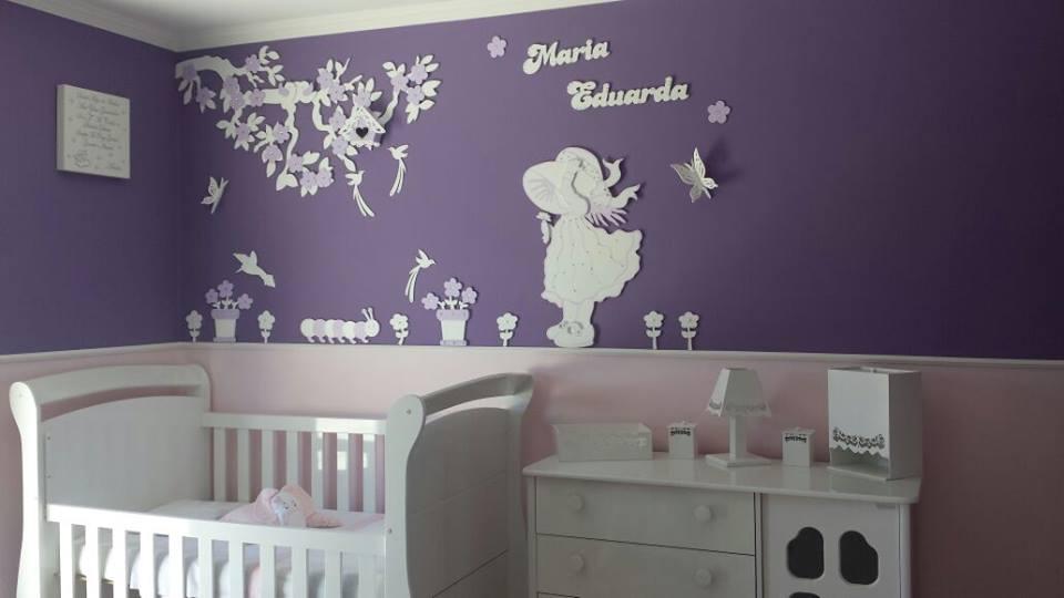 Patricia Artes e Design Painel Camponesa, painel em mdf, painel quarto de be