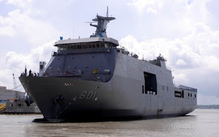 Kabar Gembira Hari ini Kapal SSV (Strategic Seaalift Vessel) Asli Buatan Indonesia telah berhasil dibuat dan dibeli Filipina Dan Sekarang sudah merapat di Manila Ibu Kota Filipina - Naon Wae News