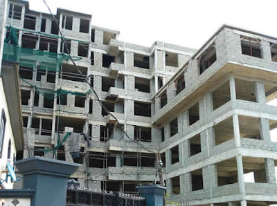 Nine-Storeyed building demolished by Lagos state Govt for not having approval
