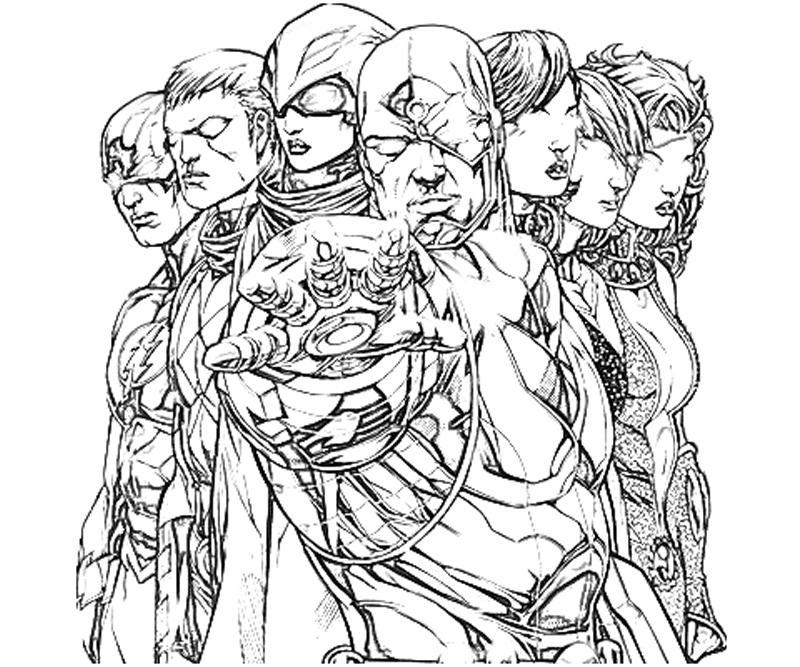 dc coloring pages | DC Universe Donna Troy Abilities | Yumiko Fujiwara