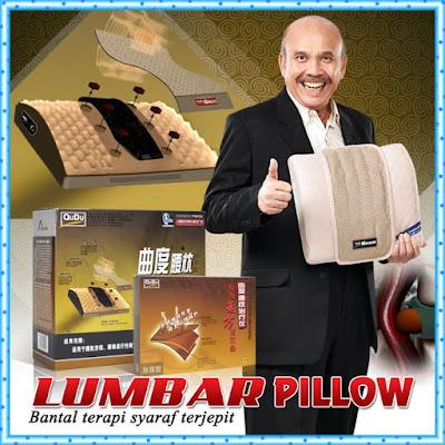 Jual Lumbar Health Pillow Bantal Terapi Syaraf Murah
