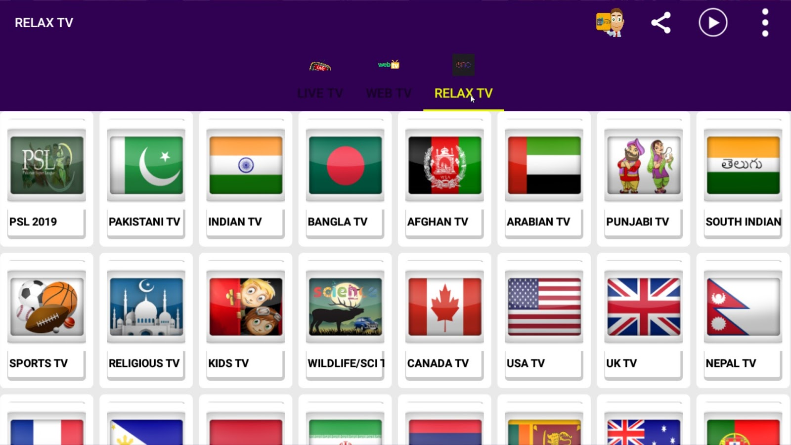 Relax Iptv Apk App Free Live TV On All Android Devices - New