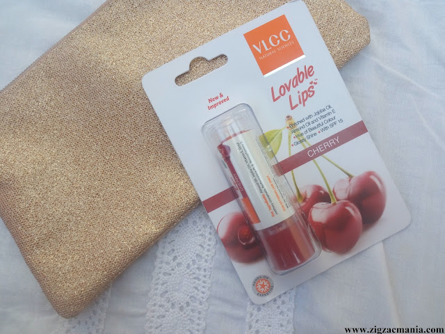 VLCC Lovable Lips (Cherry) Review