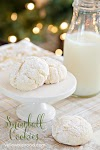 Nut Free Snowball Cookies Made Cake Mix