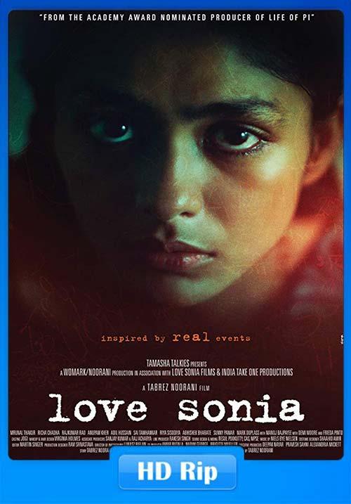 Love Sonia 2018 720p Hindi Proper HDRip x264   480p 300MB   100MB HEVC Poster