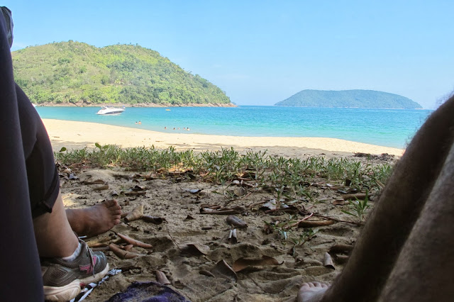 Praia do Bonete, na trilha das 7 praias desertas de Ubatuba