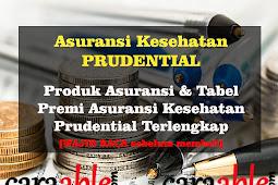 Asuransi Kesehatan Prudential : Produk & Tabel Premi Asuransi Kesehatan Prudential