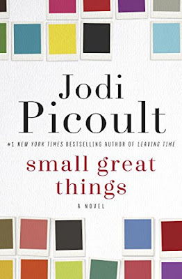 Small Great Things by Jodi Picoult - Ruth Jefferson, a labor and delivery nurse for more than twenty years who is African American, is removed from caring for a newborn patient by his white supremacist parents. But, when the newborn goes into cardiac arrest and Ruth is the only nurse available to help, how should she react? Does she disobey orders and help the child, or does she abide by the directive given to her and not care for the patient? This incident sets into motion a lawsuit and a candid look at race and racism in America today.