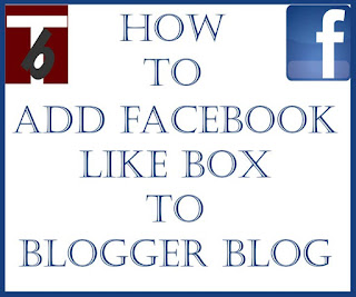 Add Facebook Like box to Blogger Blog