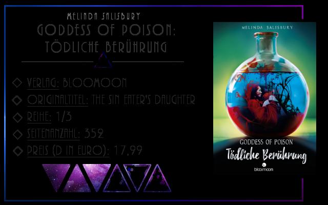 [Rezension] Goddess of Poison: Tödliche Berührung - Melinda Salisbury