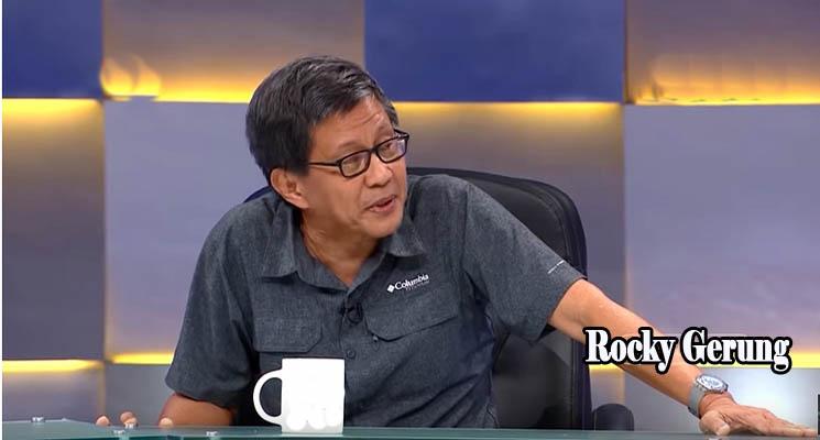 Rocky Gerung, Topik Pembicaraan Saat Ngopi