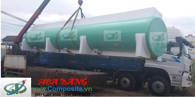 Bồn chứa HCL 6m3 - 20m3