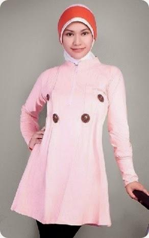 Model Baju Muslim Atasan Remaja Putri Casual