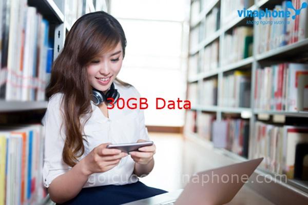 Đăng ký gói Max300 của Vinaphone miễn phí 30GB theo tháng