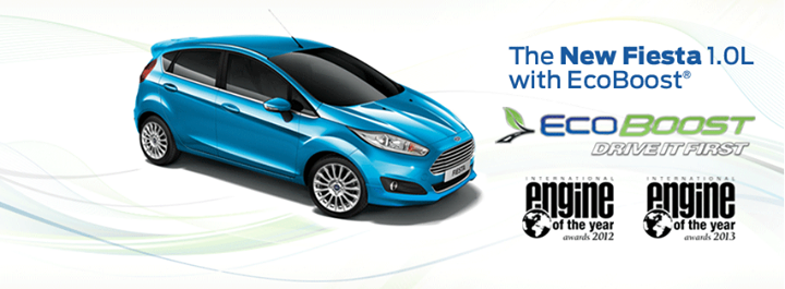 Ford Fiesta Sport+ with 1.0L EcoBoost engine