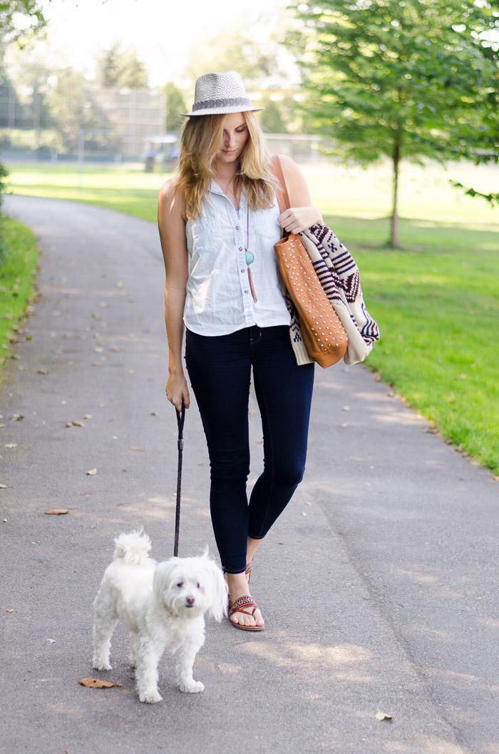 How to Wear High-Waist Jeans