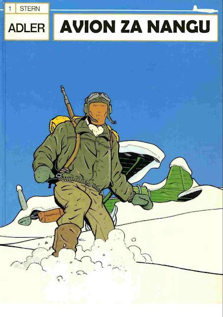 Avion za Nangu - Adler 1