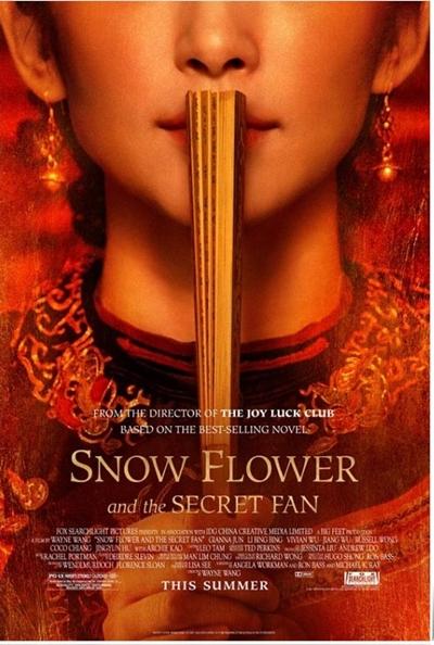 Flor de Nieve y el Abanico Secreto DVDRip Español Latino Película