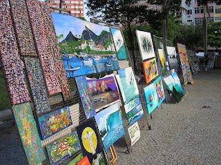 Feria Hippie de Ipanema, Río, Brasil, La vuelta al mundo de Asun y Ricardo, round the world, mundoporlibre.com