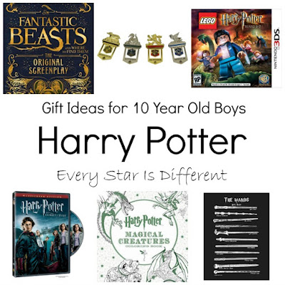 Harry Potter gift ideas for 10 year old boys.