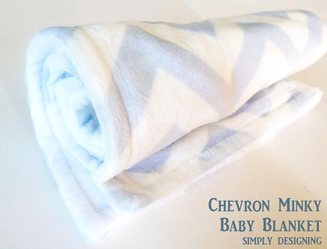 chevron+minky+baby+blanket+03 Chevron Minky Baby Blanket 11