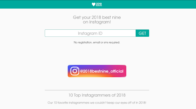 my best nine instagram