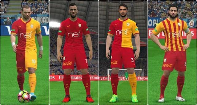 Galatasaray Fantasy Kit PES 2017