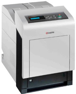 N printer is a color printer is the latest business Kyocera C5350DN Driver Download