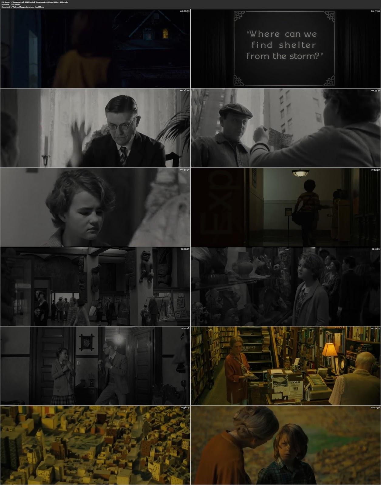 Wonderstruck 2017 Hollywood 300MB BluRay 480p ESubs at movies500.site