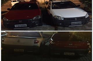 Policia de Picuí desarticula quadrilha que comercializava veículos roubados e clonados na região