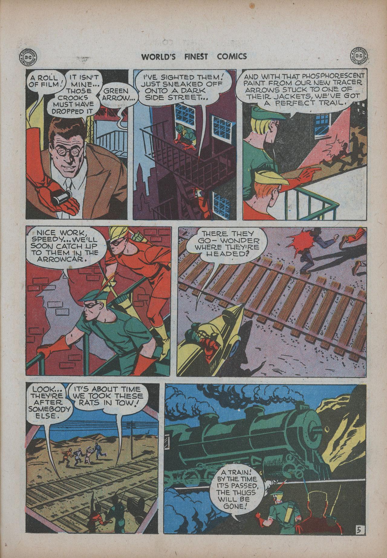 Read online World's Finest Comics comic -  Issue #20 - 21
