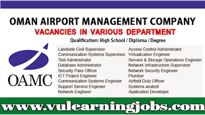 Muscat International Airport | Muscat Airport Careers | Jobs In Middle East