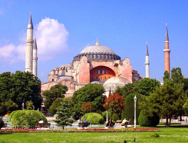 Mesquita Hagia Sofia em Istambul