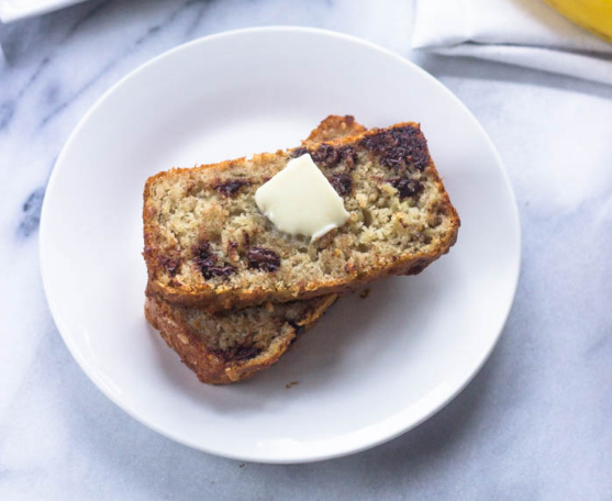 THE BEST EVER SUPER MOIST GLUTEN FREE BANANA BREAD #dessert #cake