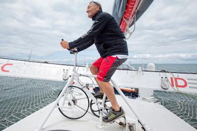Francis Joyon se met au vélo sur Idec Sport