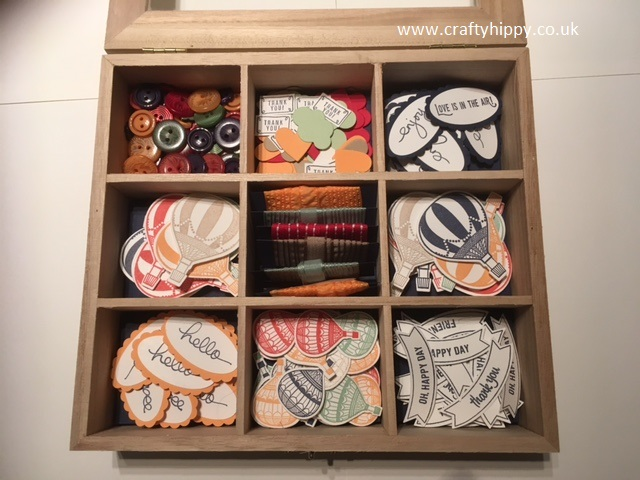 Wooden Embellishment Box, Stampin' Up!