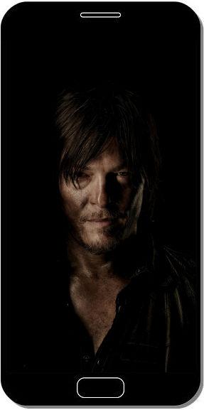 Daryl The Walking Dead - Fond d'Écran en QHD pour Mobile