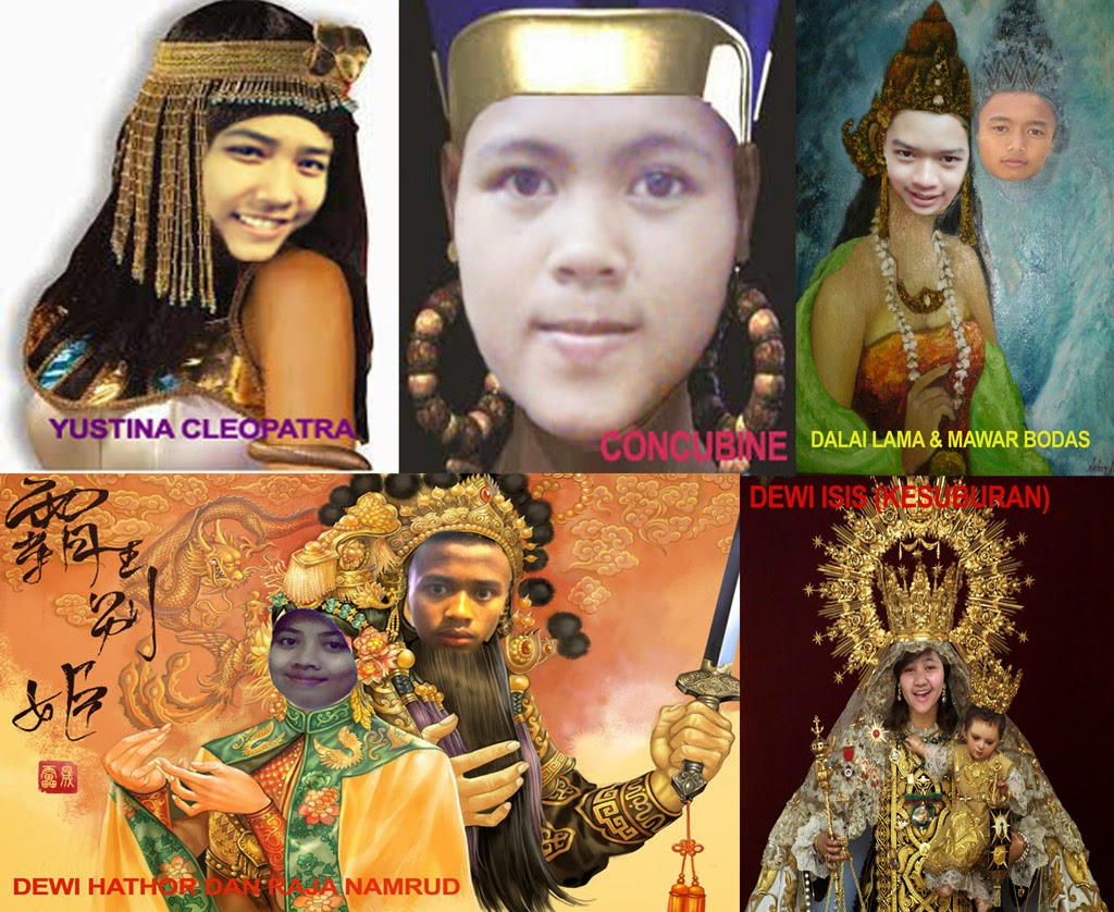 5 Dewi Mesir Kuno