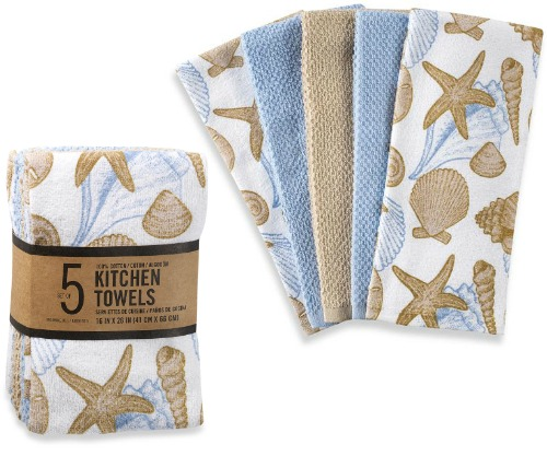 Shell Kitchen Towels