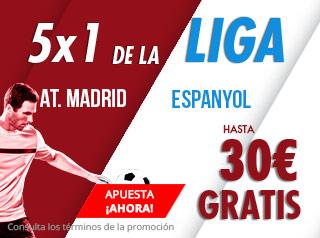 suertia promocion Atletico vs Espanyol 22 diciembre