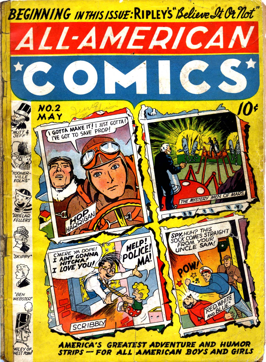 Read online All-American Comics (1939) comic -  Issue #2 - 1