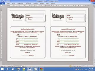 Contoh Undangan 1000 Hari Orang Meninggal Word Tinggal Edit