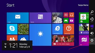 Cara Mengganti Tampilan Start Screen Windows 8.1 11