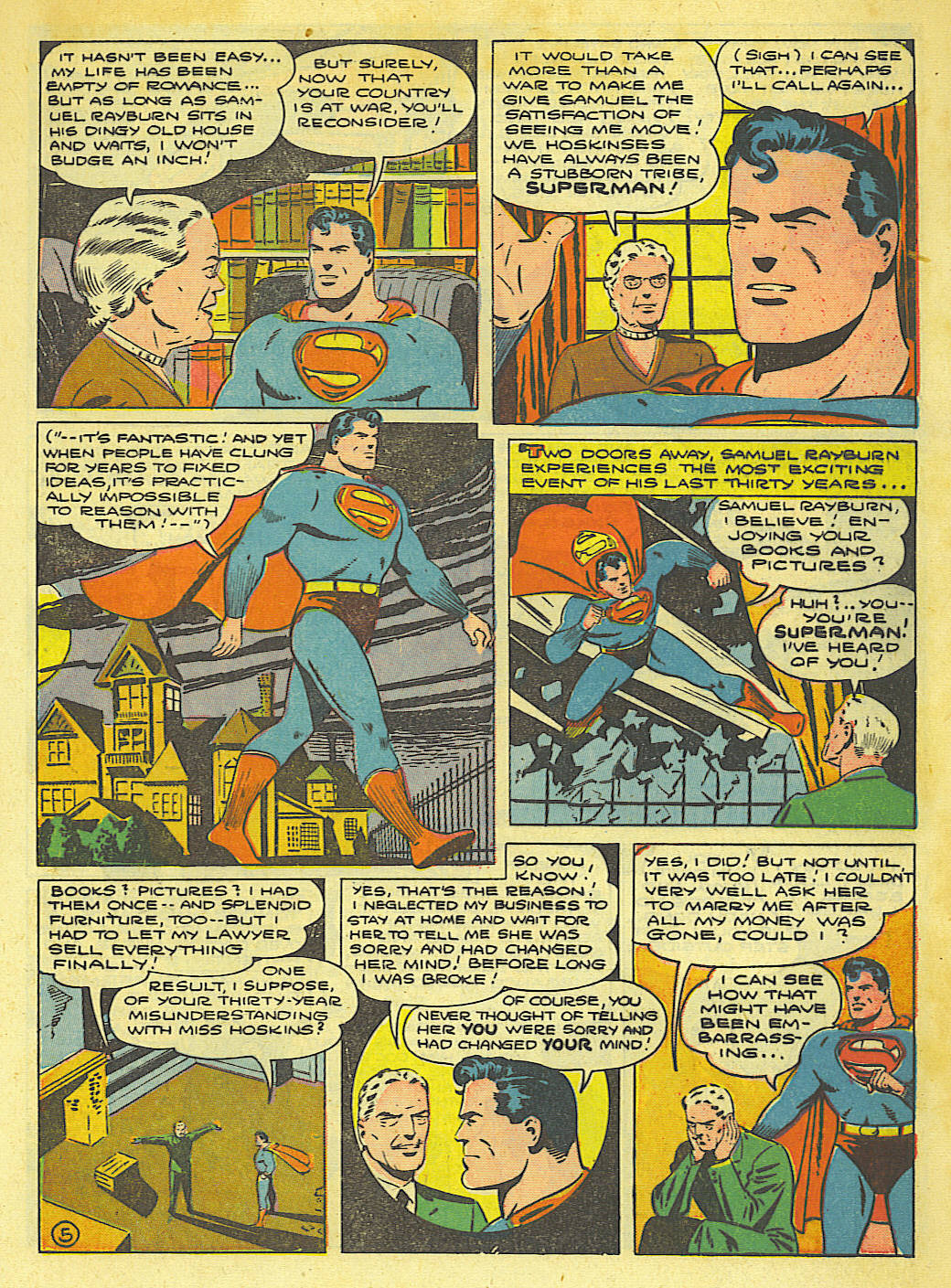 Read online Action Comics (1938) comic -  Issue #67 - 7