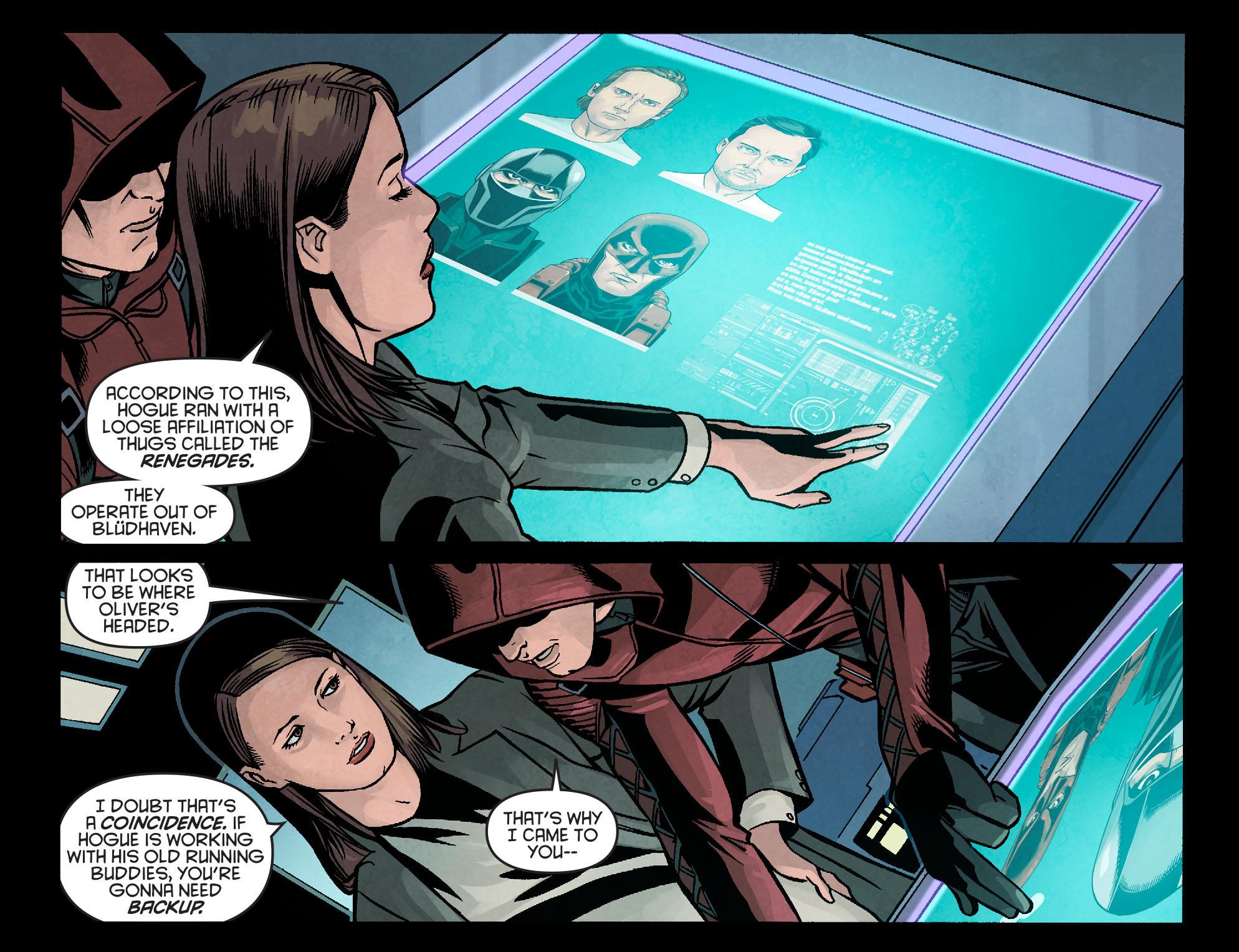 Read online Arrow: Season 2.5 [I] comic -  Issue #14 - 9